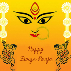 Durga puja greetings greetings on durga poojadurga puja gifts durga maa cards m4hsunfo